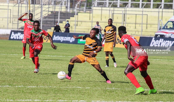 Karela United fight to draw 1-1 against Ashgold SC