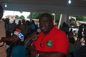 Julius Debrah, Chief of Staff