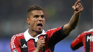 Kevin won Serie A with AC Milan
