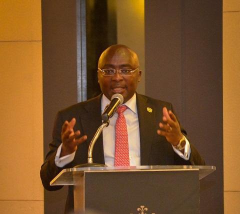 Vice President, Dr Mahamudu Bawumia