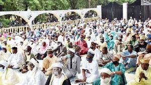 Eid-al-Adha prayers at Agodi Central Praying Ground, Ibadan