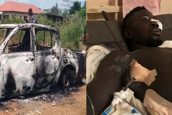 NPP MP's alleged armed thug busted for almost killing NDC man