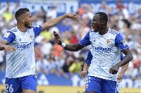 Dawamena has so far netted twice for Zaragoza in the La Liga