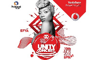 Vodafone unity concert cover