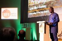 Dr. Caleb Ofori-Boateng at the 2019 Whitley Awards
