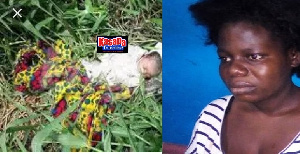 Mother dumps baby in the bush