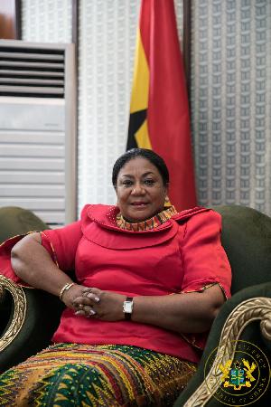 Mrs Rebecca Akufo-Addo's first-term of impressive service to Ghana