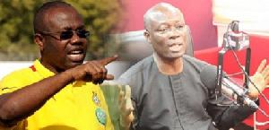 Sports Minister Nii Lante Vanderpuye and GFA Chief Kwesi Nyantakyi