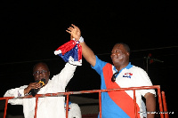 Akufo-Addo introduces Philip Addison during his tour at Klottey Korle constituency