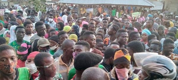 You'll return home in victory - Yagbonwura foretells as he blesses Mahama