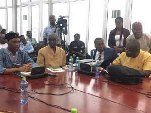 The near-brawl happened when Ken Agyapong appeared before the privileges c'ttee to answer questions