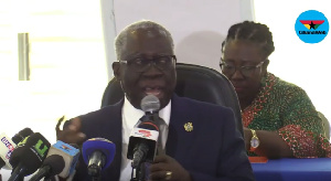 Senior minister Yaw Osafo-Maafo