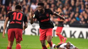 Thomas Partey Atletico Madrid 2019 20