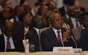 President John Mahama at the 6th Tokyo International Conference on African Development in Kenya.