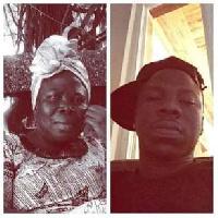 Stonebwoy and mom