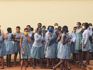 Accra Girls COVID 19
