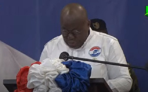 President  Akufo-Addo has been aclaimed as the NPP flagbearer for the December 2020 electio