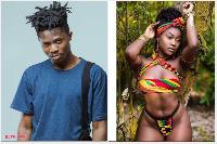 Kwesi Arthur and Efia Odo