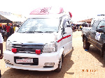 The ambulance donated by the NPP Japan branch