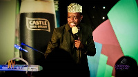 Comedian Foster Romanus