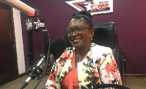 A Senior Research Scientist at the Ghana Atomic Energy Commission Dr. Vivian Oduro