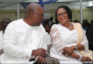 Mr and Mrs Mahama
