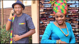 Counsellor Lutterodt and Diana Asamoah