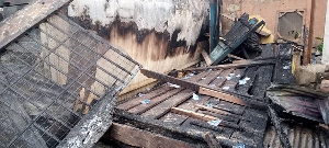 The fire burnt properties in the two buildings