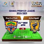 2020/21 GPL Week 2 Match Preview:Hearts of Oak vs AshantiGold