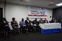 L-R Zakaria Tanko, Beauty Nartey, Manasseh Awuni Azure, William Nyarko & Suleimana Braimah
