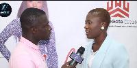 Fella Makafui speaking to Zion Felix