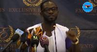 Ghanaian Highlife Musician, Okyeame Kwame