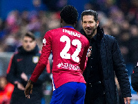 Thomas Partey has become a core member of Simeone's team