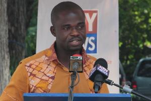 Manasseh Azure Awuni is a journalist