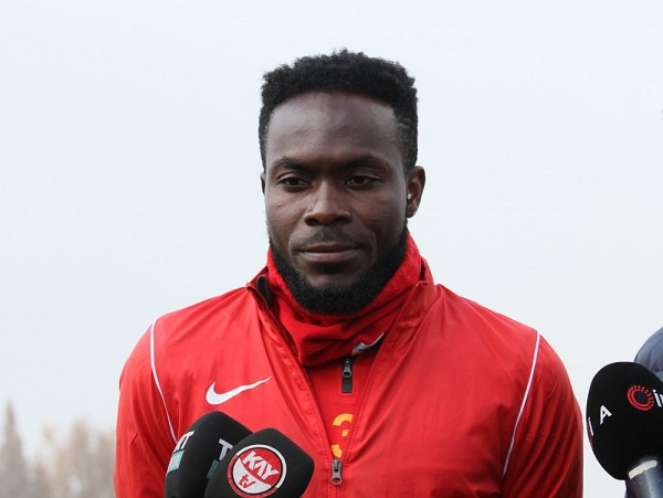 Ghana defender Joseph Attamah makes injury return for Kayserispor against Yeni Malatyaspor