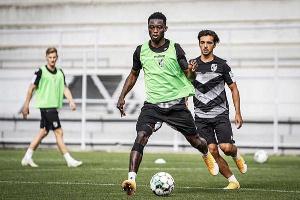 Ghana defender Gideon Mensah