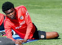 We never stop believing, Partey wrote on his official Twitter account (Photo: Twitter)