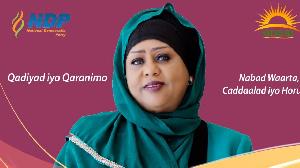 Fawzia Yusuf Haji Adam aiming to become president
