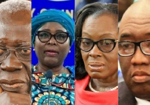 The former ministers of state will not be part of Akufo-Addo's new administration