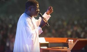 Pastor Mensa Otabil is the head pastor of ICGC