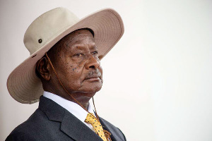 Ugandan president Yoweri Kaguta Museveni