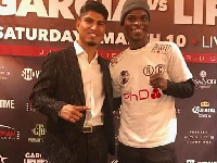 Mikey Garcia and Richard Commey