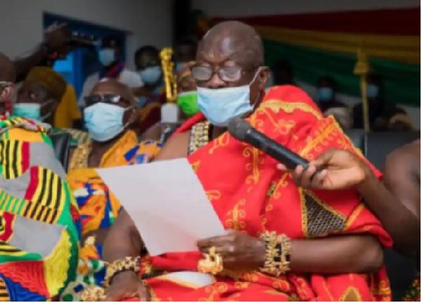 Photo of Krachi paramount chief apologises to Akufo-Addo | GhanaWeb