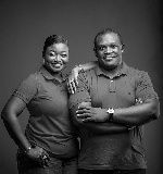 'To my wife who's a woman' - Sam George marks 9th anniversary with beautiful photos