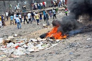 Protests Burn