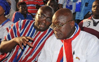 President-elect Nana Akufo-Addo and Vice-elect Bawumia