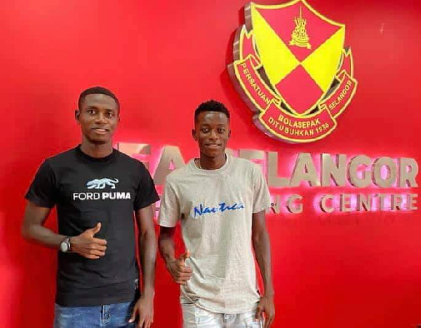 Accra Lions duo Attram, Ayimbila complete loan move to Malaysian side Selangor FC