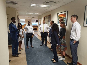 Students of Harvard  Business School will be having field experience at the Stanbic Bank Ghana