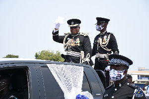 Outgoing IGP James Oppong Boanuh Pullout