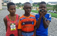 Some of the child-delegates spotted at the APC Congress